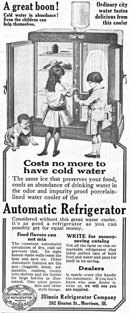Automatic Refrigerator 1916