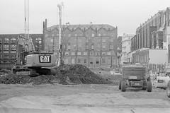 Whiteleys building site