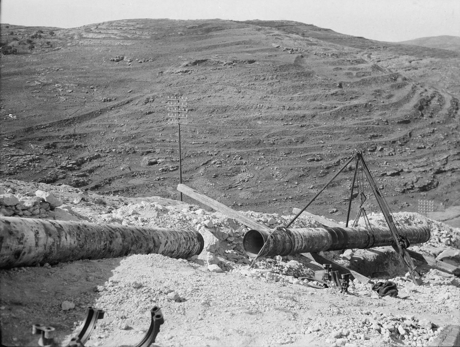 19. Прокладка трубопровода возле Кулонии