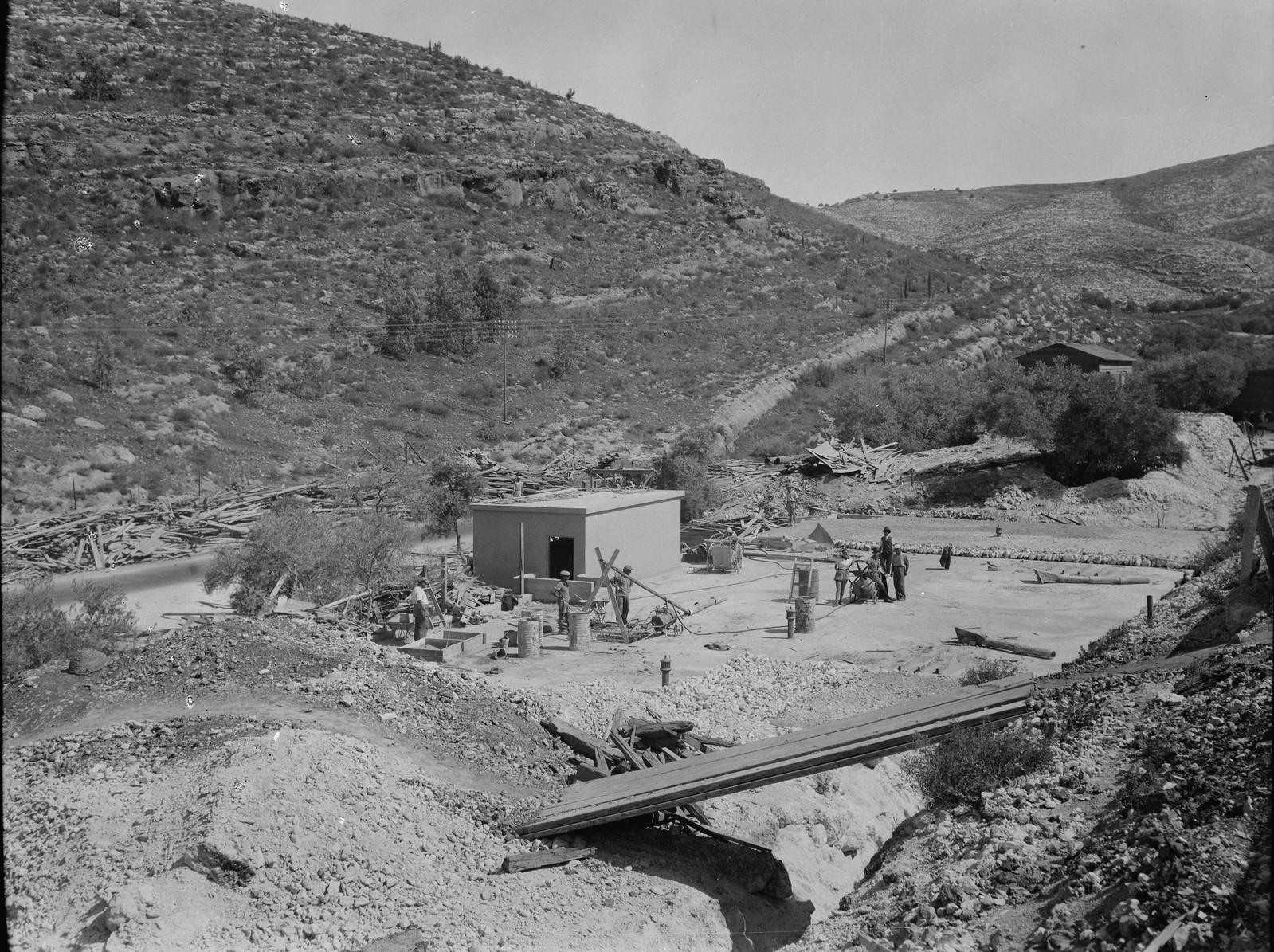 13. Баб-эль-Вадское водохранилище, частично находящееся под землей