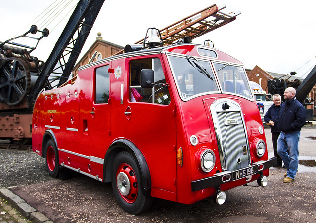 Dennis Fire Engine, Summerlee, Coatbridge