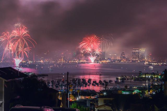 July 4th in San Diego