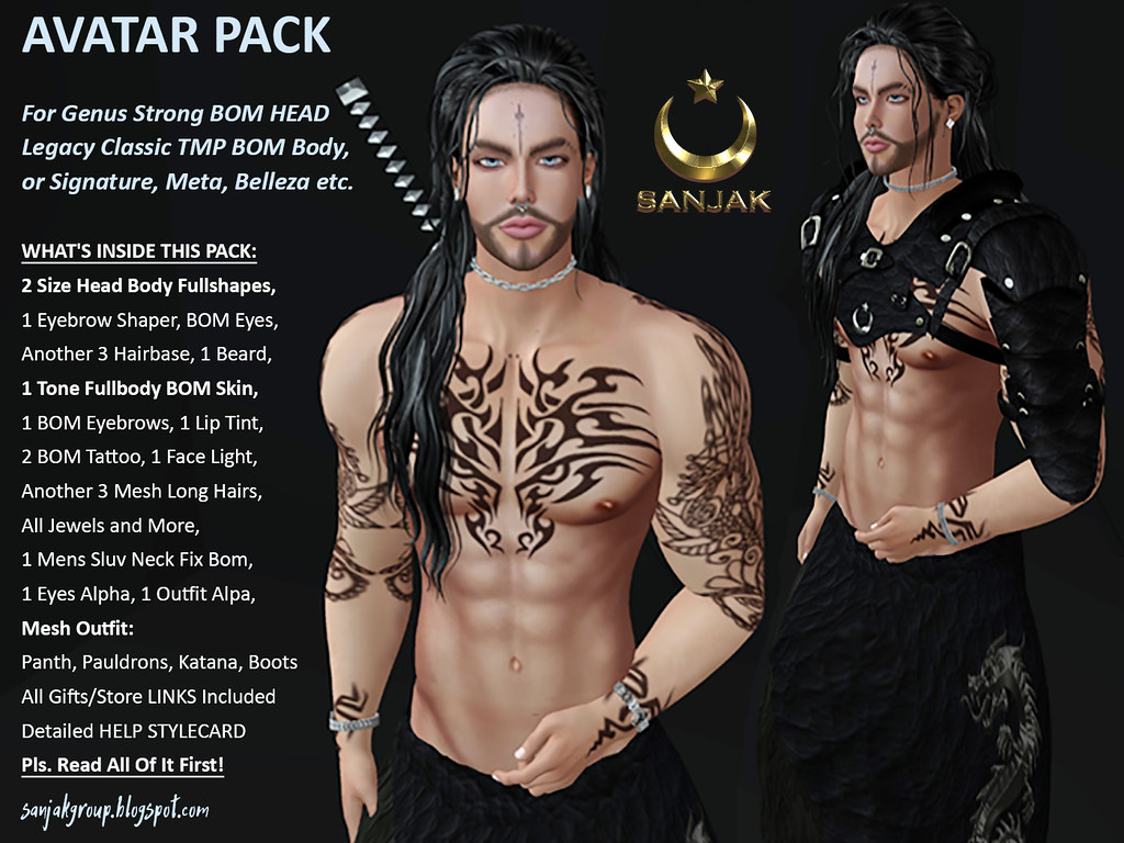 Avatar Pack For Genus Strong Head Legacy Signature Sanjak