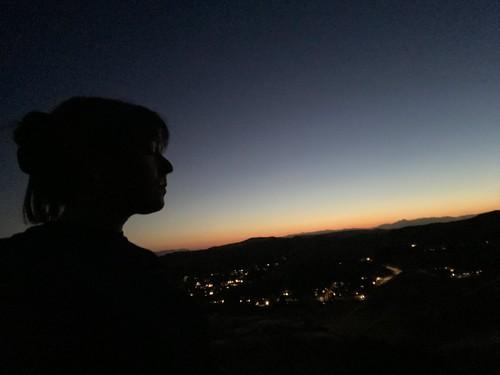 alone park thursday emotional iphone11 sadness selfie view twilight sunset july