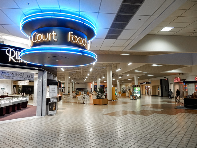 The Hutchinson Mall Food Court - Hutchinson, KS