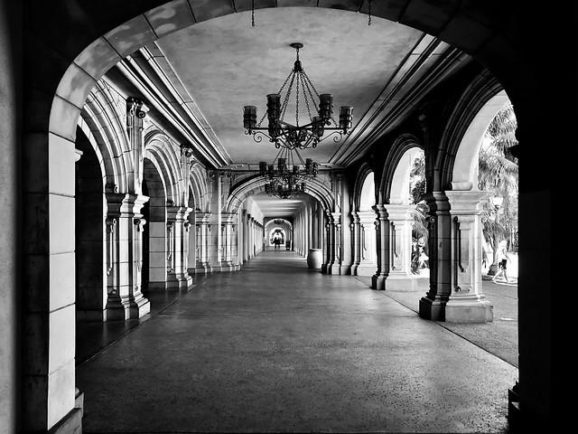 Balboa Arches, San Diego, CA