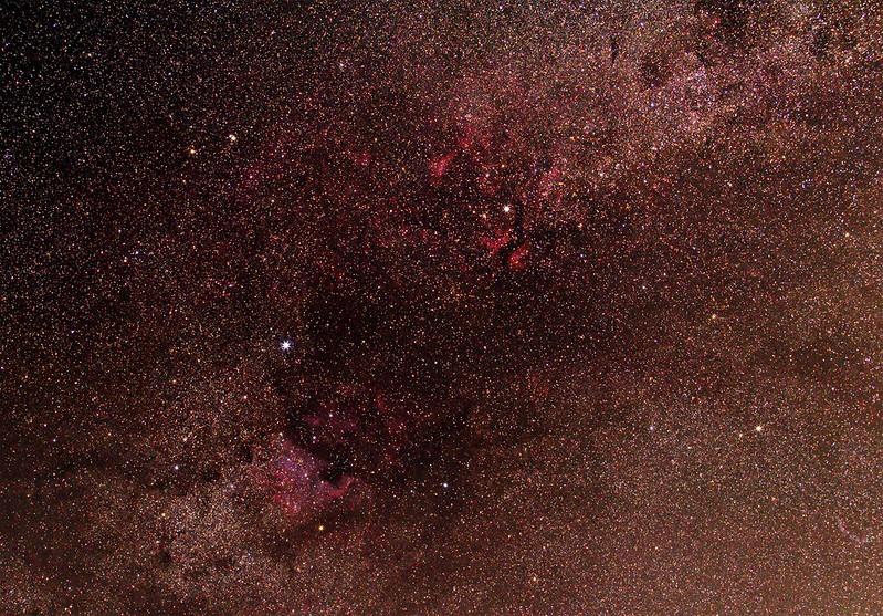 Sadr - Deneb terület, Canon 6D, 70-200 f/4, Kirschbaum Tamás