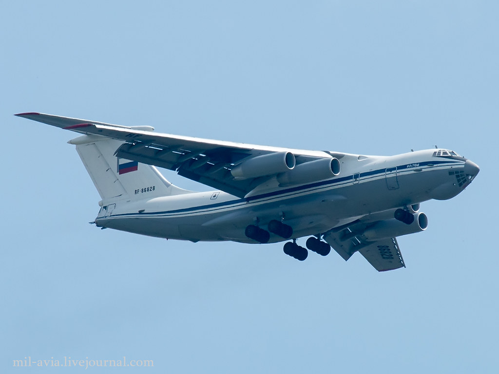 IL-76M over Kaliningrad