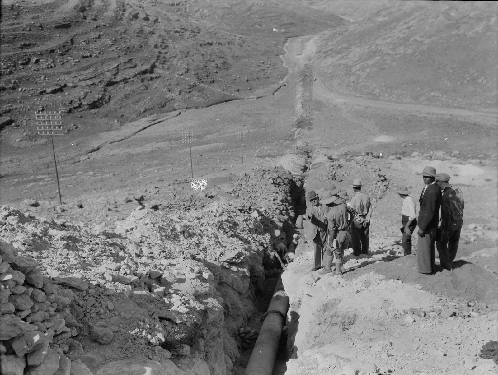 20. Трубопровод, пересекающий римскую дорогу возле Кулонии
