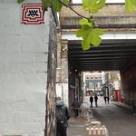 Invader street art, Shoreditch