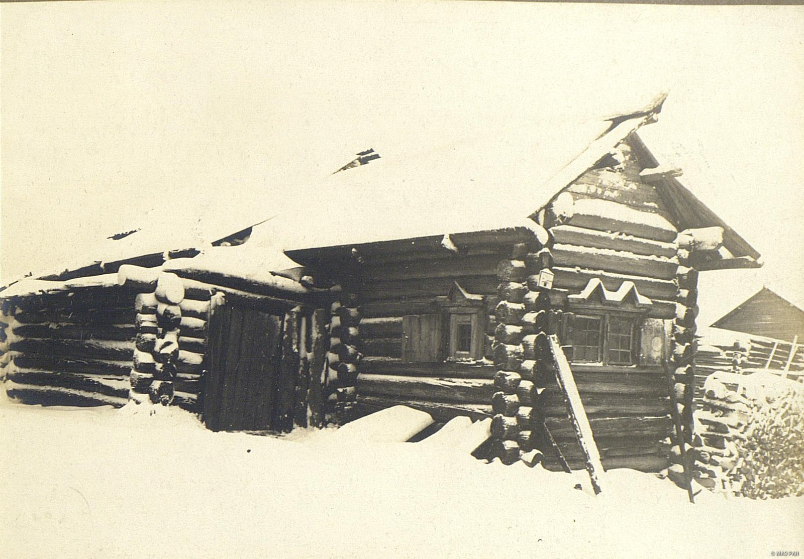 Мезень. Образец деревянной постройки