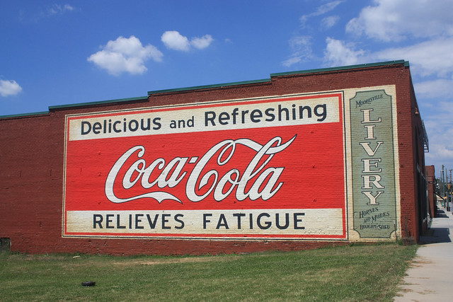 Coca-Cola Ghost Sign - Mooresville