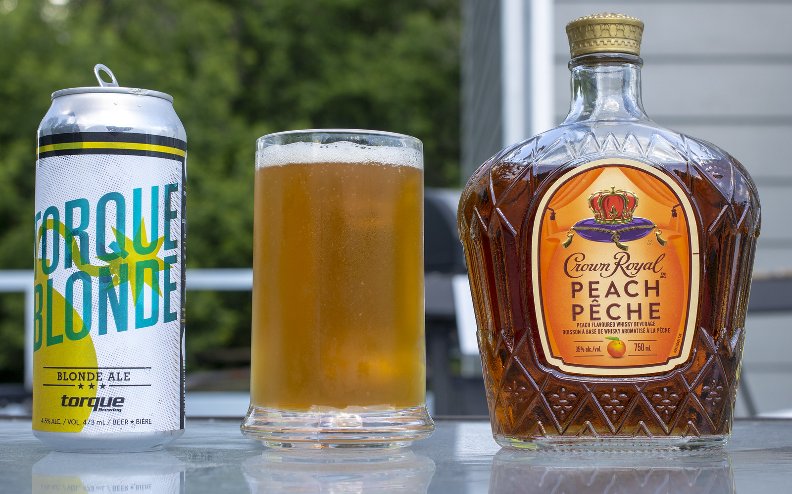 The Gimli Rydler - Crown Royal Peach Whisky and Beer