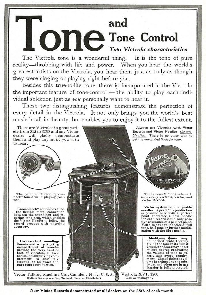 Victrola XVI 1915