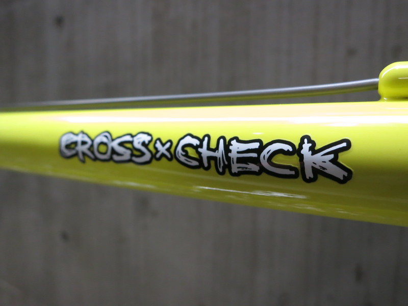SURLY Cross Check paint YL Logo 2