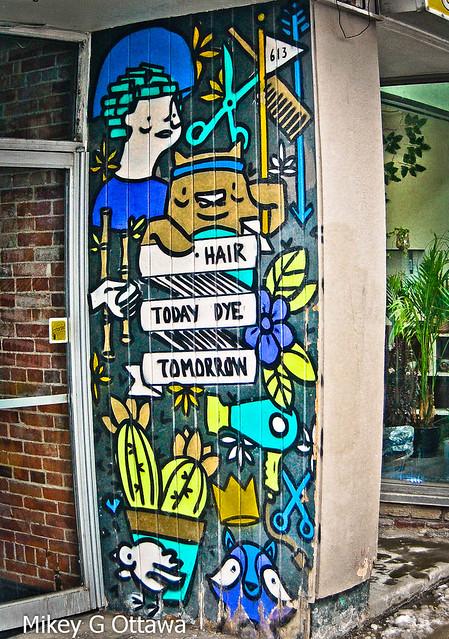 Pre-Covid Mural Slogan - Ottawa 07 20