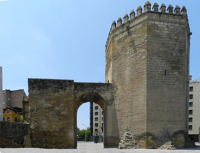 Torre de la Malmuerta de la muralla de Cordoba 02