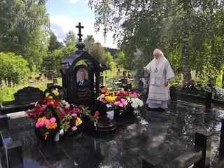 04.07.2020 | Литургия на Городском кладбище Валдая