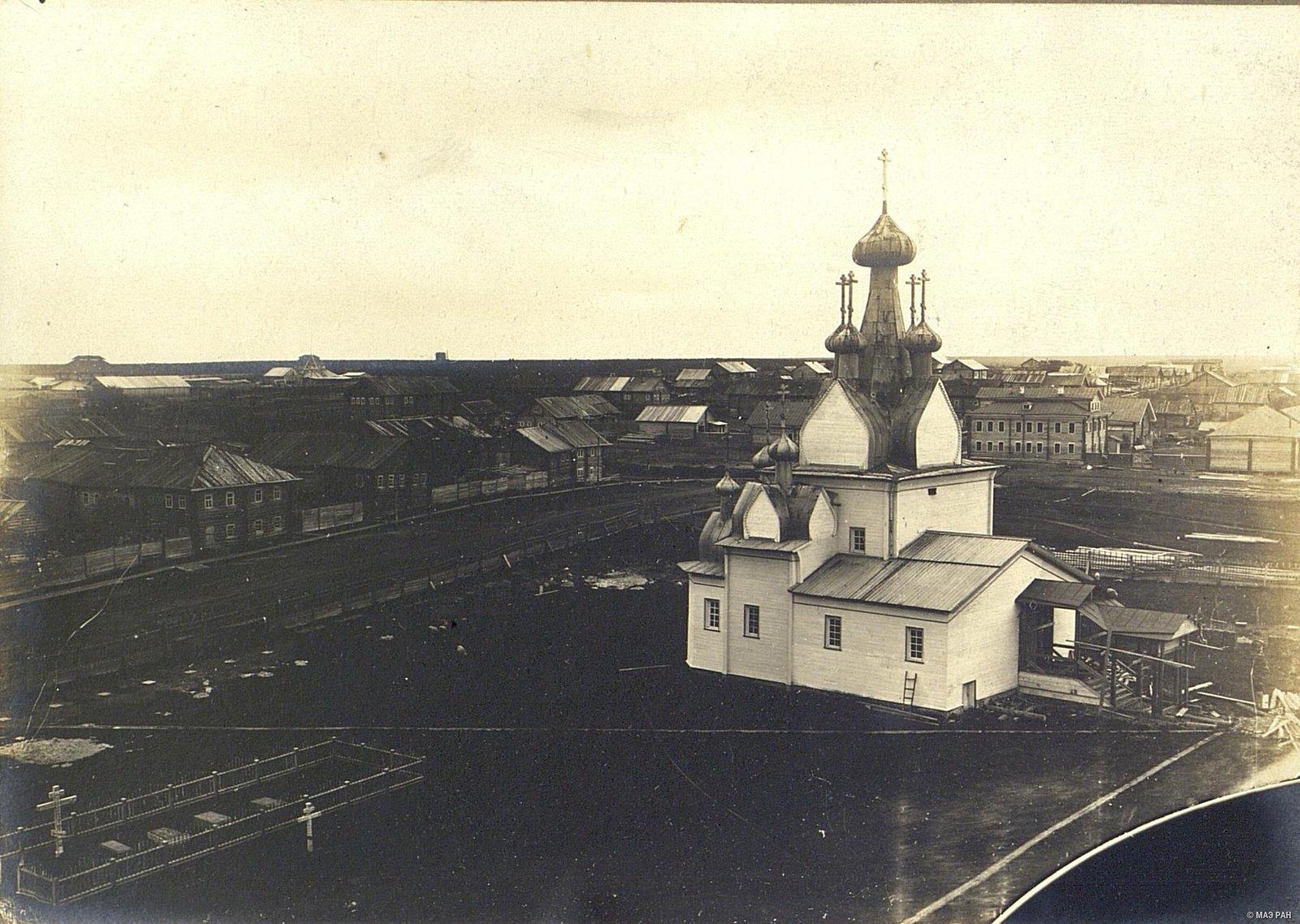 Мезень.  Собор XVII века