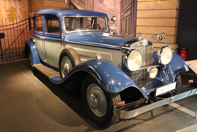 1933 Horch 750 Pullman Limousine       August Horch Museum Zwickau 03.07.2020