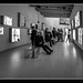 Bauhaus on a multi-media wall