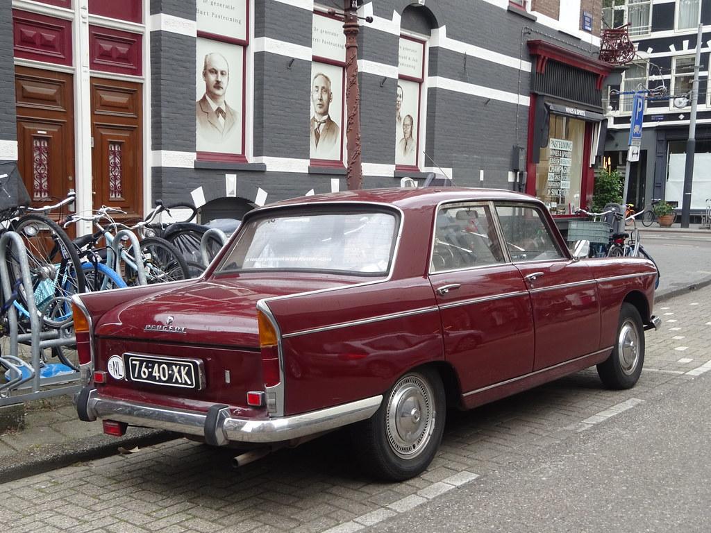 76-40-XK PEUGEOT 404 XC7  1973 Amsterdam