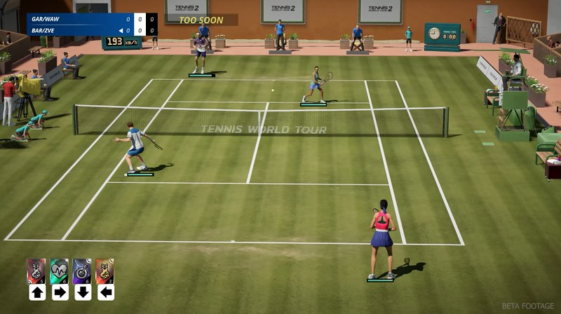 Tennis World Tour 2 - Doppio