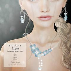 ::c.A.:: Inga [Necklace & Earrings]