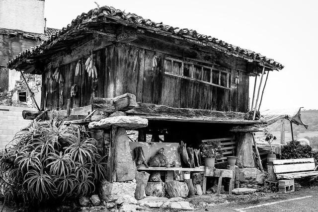 Spain - Asturias - Colunga - Asturian horreo