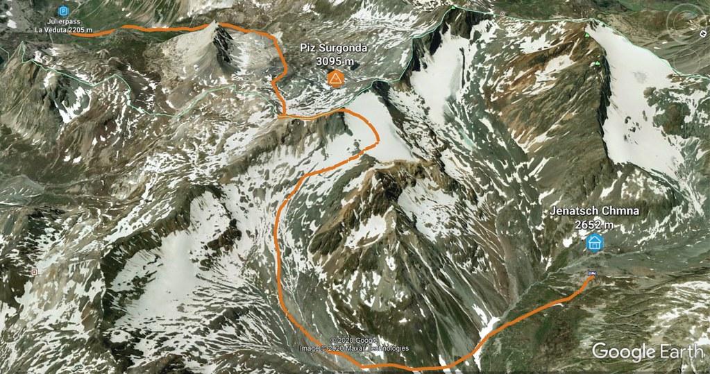 Piz Surgonda Albula Alpen Schweiz foto 02