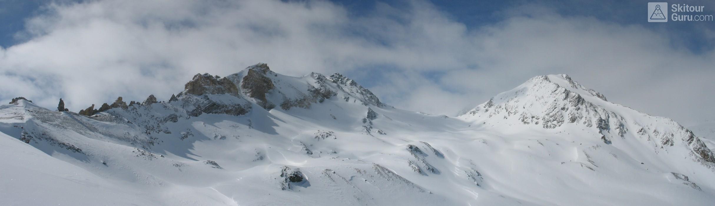 Piz Surgonda Albula Alpen Schweiz panorama 08