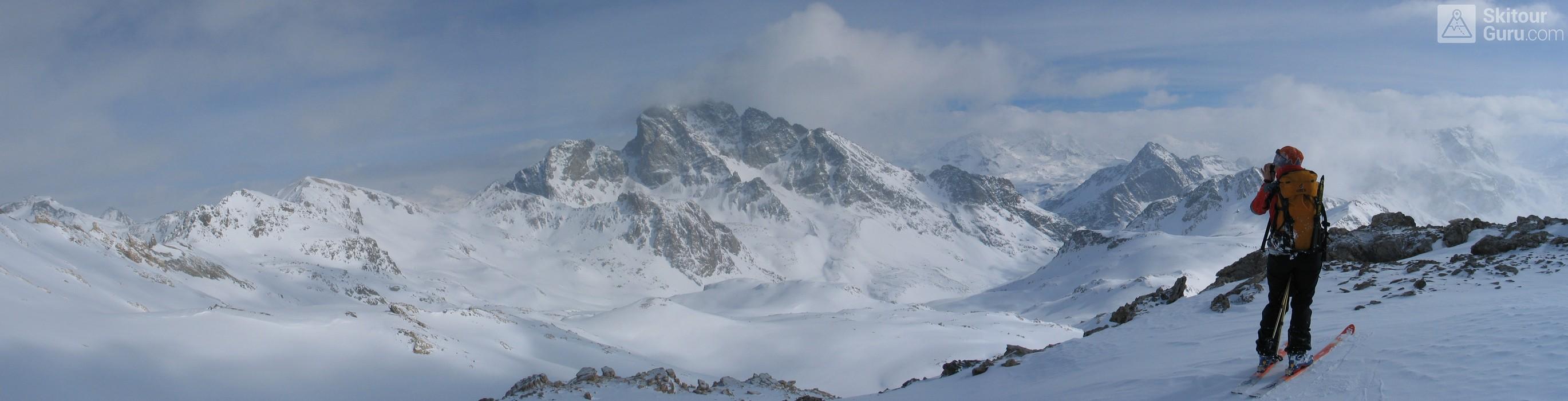 Piz Surgonda Albula Alpen Švýcarsko panorama 11