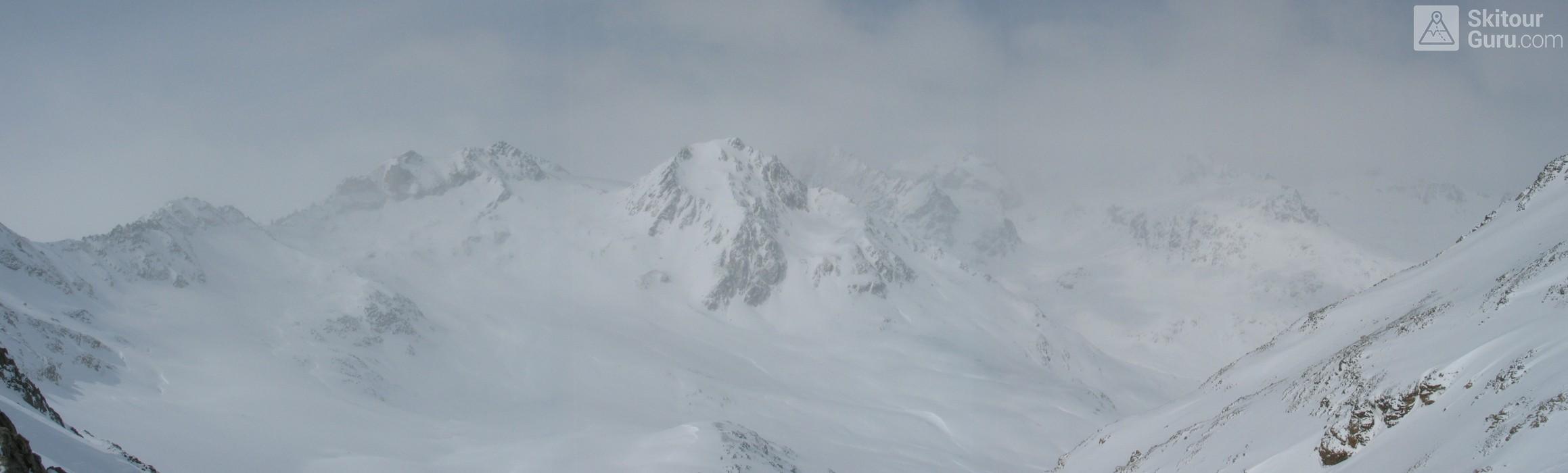 Piz Surgonda Albula Alpen Švýcarsko panorama 07