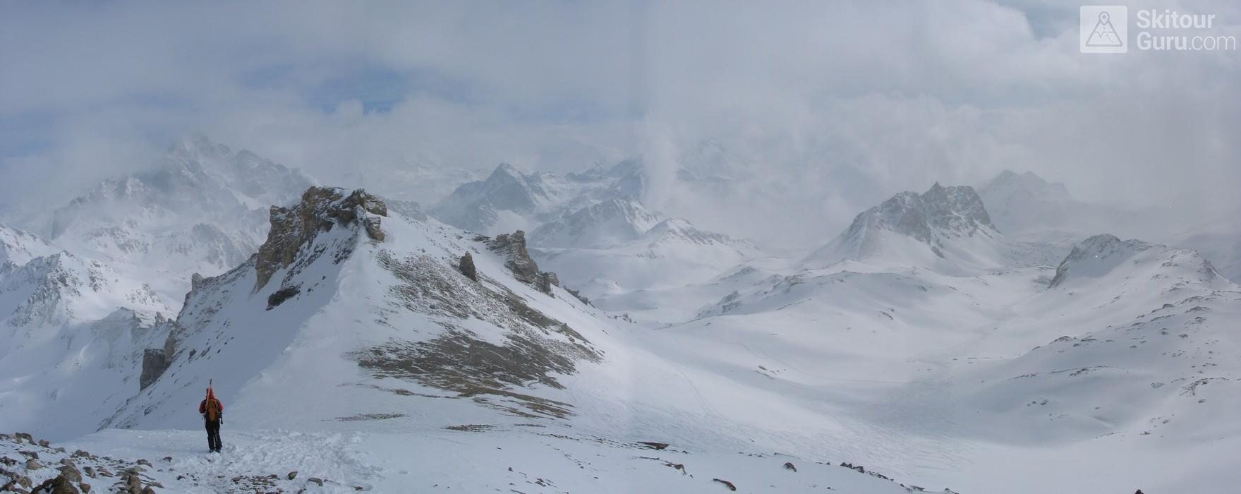 Piz Surgonda Albula Alpen Švýcarsko panorama 10
