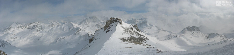 Piz Surgonda Albula Alpen Schweiz panorama 09