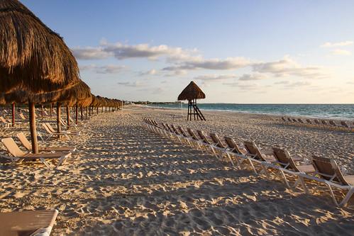 The terrain around Chichen Itza, Mexico's Yucatán Peninsula