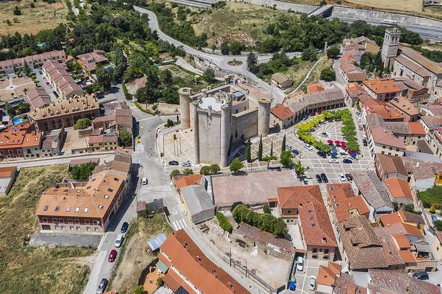 Castillo de Torija desde el aire