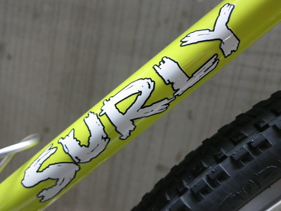 SURLY Cross Check paint YL Logo