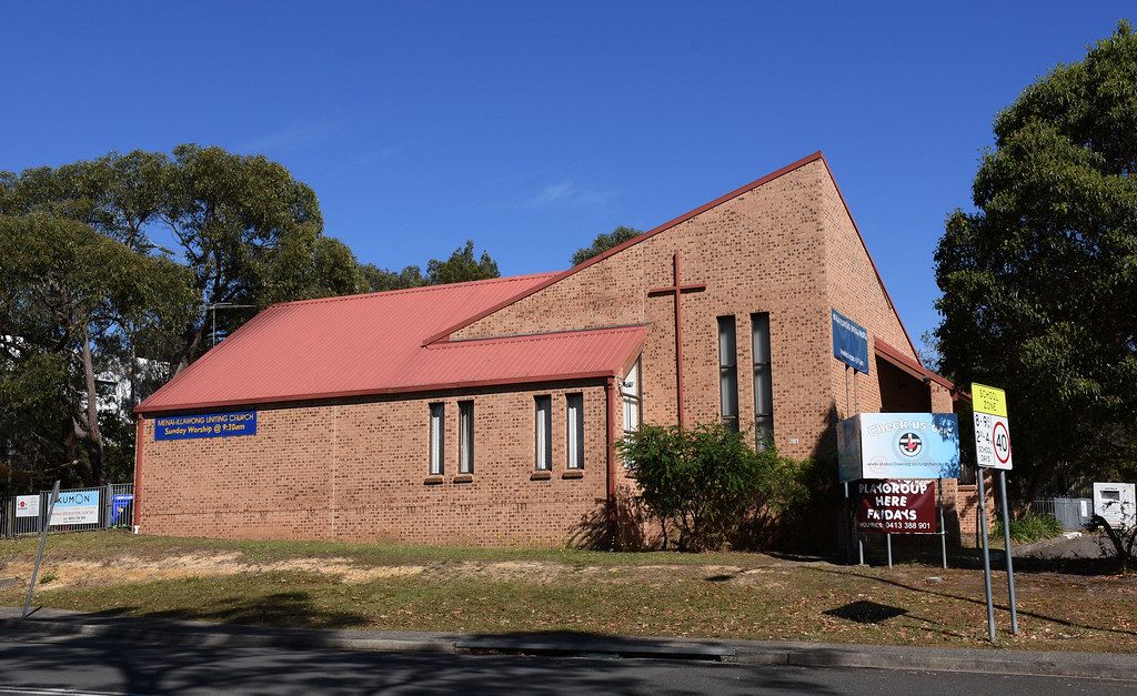 Uniting Church, Menai, Sydney, NSW.