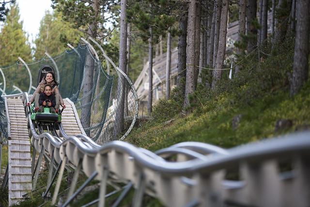 Tobotronc en Naturlandia (Andorra)