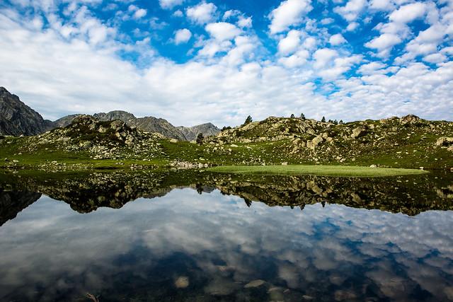 Paisaje del Parque Natural Madriu-Perafita-Claror (Andorra en verano)