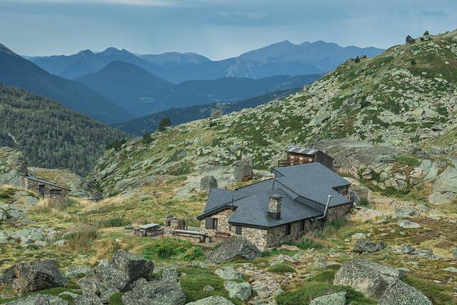Refugio de montaña en Andorra