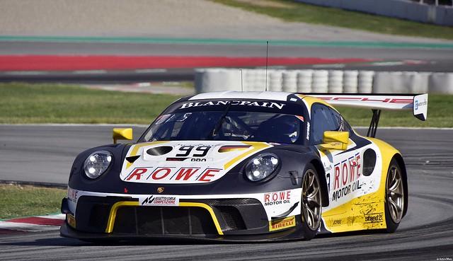 Porsche 911 GT3 R / Dirk Werner / DEU / Matt Campbell / AUS / Dennis Olsen / NOR / ROWE RACING