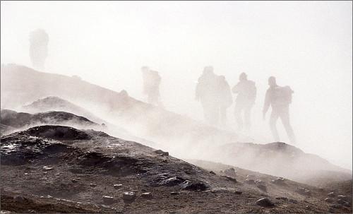 Sulfur and Steam on Kverkfjöll