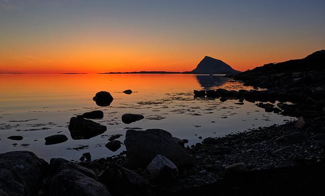 Calm night, Norway