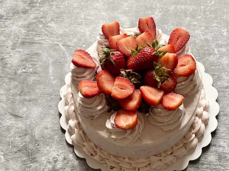 Inang Charing's Strawberry Shortcake