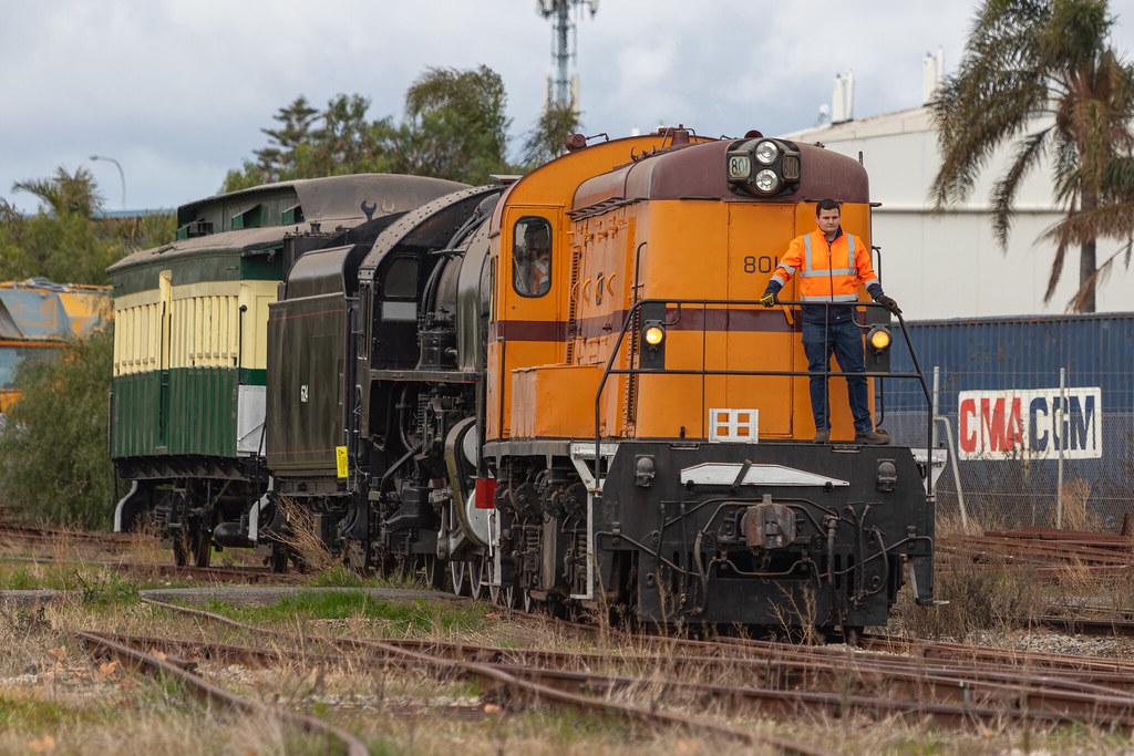 SAR 801 - 624   National Railway Museum by Kade Storey