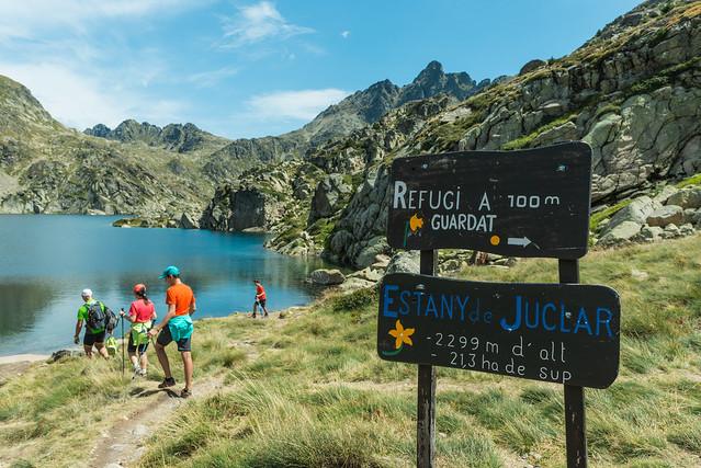 Senderismo en el Estany del Juclar (Andorra)
