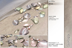 Sway's [Shell] Beach Shells decoration | SSS