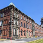 Old Sharoe Green Workhouse Hospital in Preston